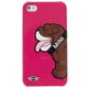Mili Накладка Mini для iPhone 5 Hard Bulldog Berry Pink MNHCP5DOBP